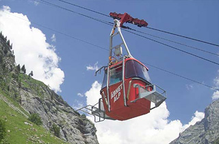 Aebnet cable car